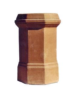 Octogon chimney pot