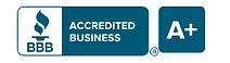 Better Business Bureau Accredited Business Rating A+ logo