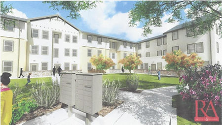 Buellton Gardens housing project building and landscaping drawing