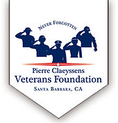Pierre Claeyssens Veterans Foundation Santa Barbara, CA logo and link