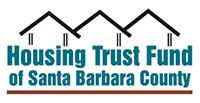 Santa Barbara Housing Trust Fund logo with black housing outline