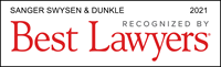 Sanger Swysen Dunkle recognized by Best Lawyers 2021
