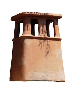 Rectangle with Built-In Rainguard chimney pot