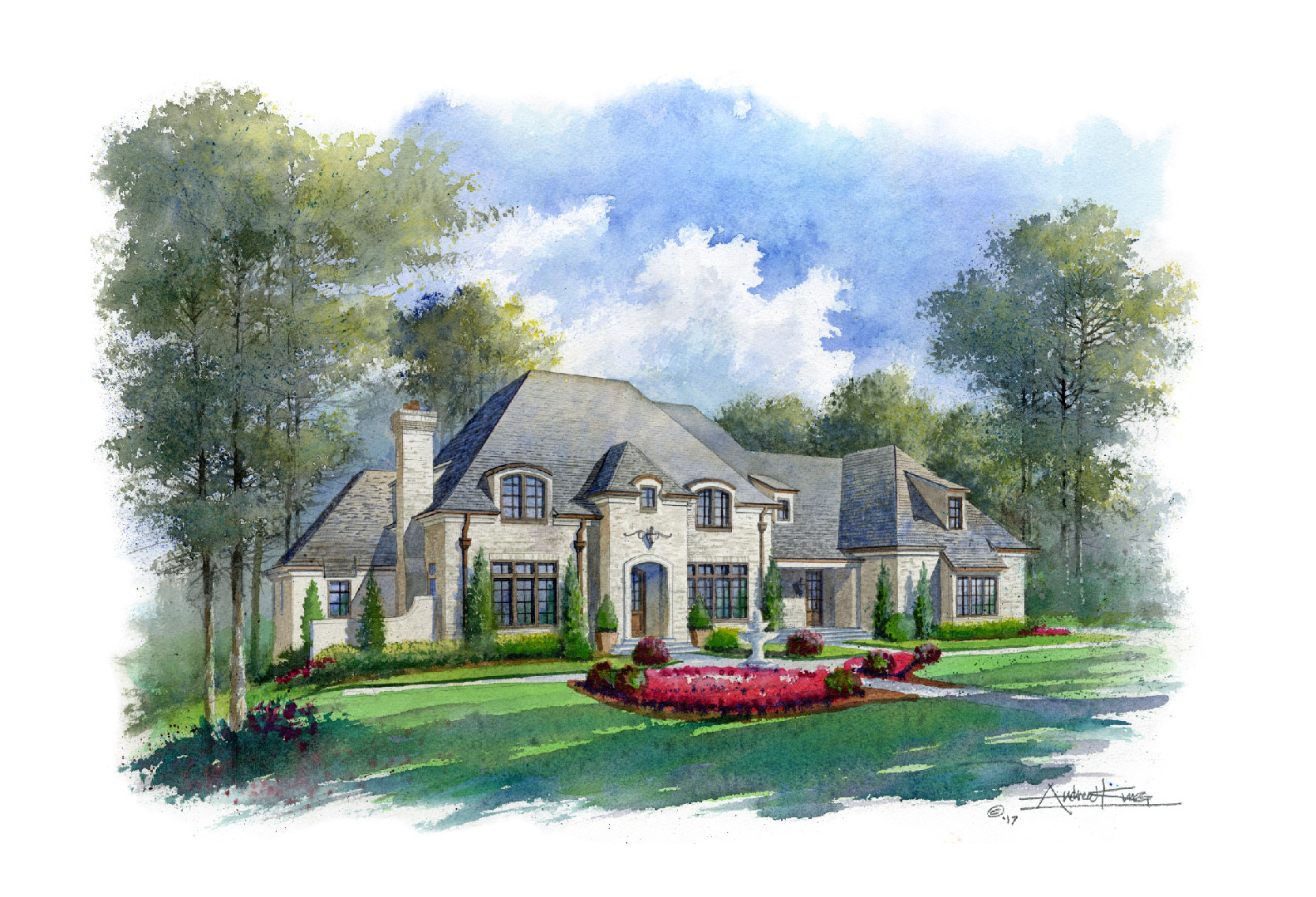 Perry Custom Home - Mayfair Estates Lot 47