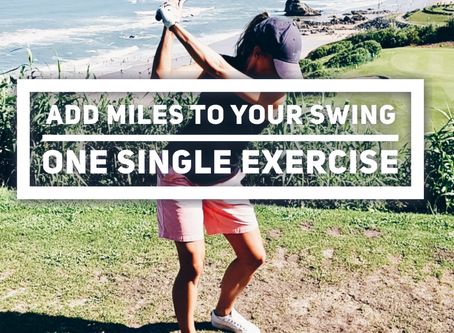 How to add miles to your swing with one single exercise: The Single Leg Romanian Deadlift