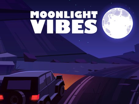 Moonlight Vibes, the debut lofi hip-hop beat tape from Chill Moon Music