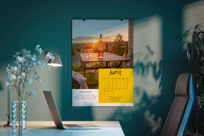 Kalender 2021 Puklavec Family Wines