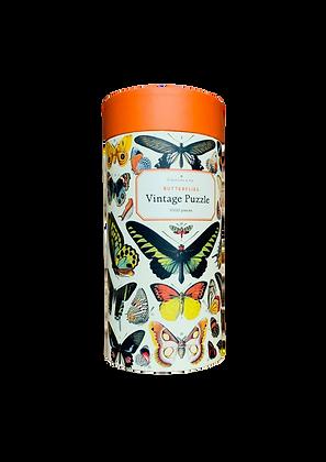 Puzzle vintage - Butterflies