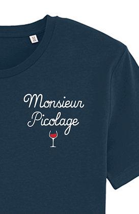 T-shirt Picolage marine