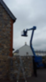 High Cherry picker work, Exterior Decorating in Devon