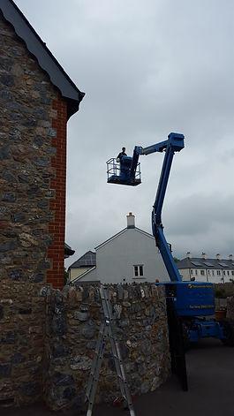 High Cherry picker work, Exterior Decorating in Devon