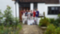 Painters, decorators, totnes. team photo