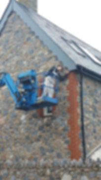 Cherry picker, Exterior Decorating in Devon