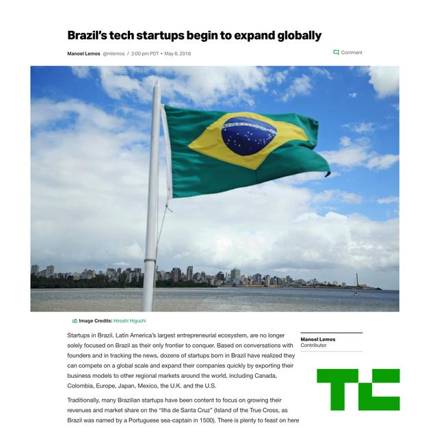 Brazil's Startups Go Global!