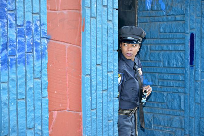 Actress portfolio: cop TV series
