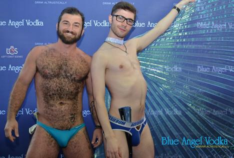"Blue Angel go-go's spread cheer at SFGMC fundraiser for ""Unbreakable"""