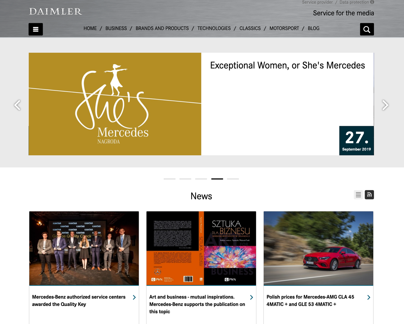 Daimler Poland Newsroom