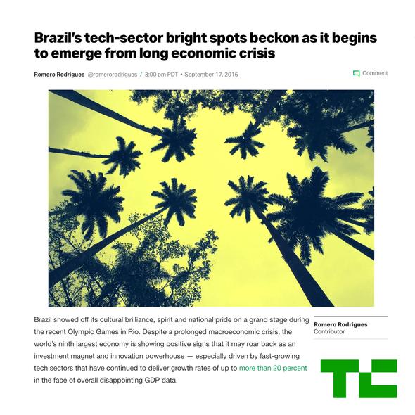 Brazil's Tech Sector Beckons.