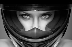 2. Female race car driver 2