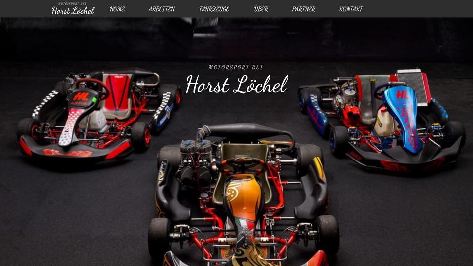 Motorsport bei Horst Löchel