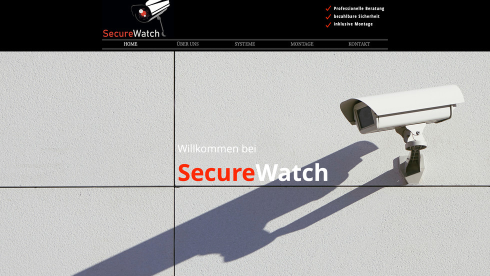 Secure-Watch Überewachungskameras
