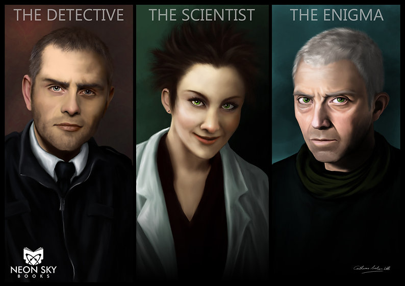 The Detective, The Scientist & The Enigma by Catherine Archer-Wills