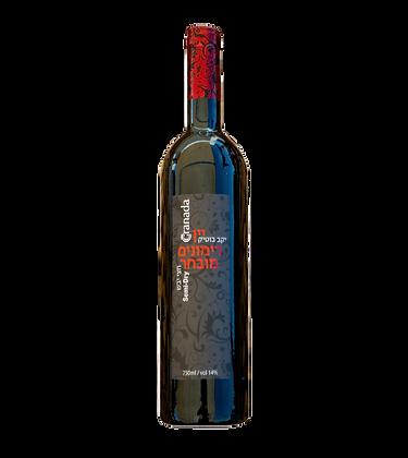 יין רימונים חצי יבש