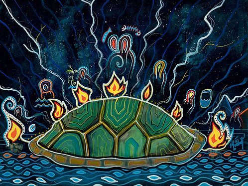 Prophets of Turtle Island - Print (Stretched Canvas)