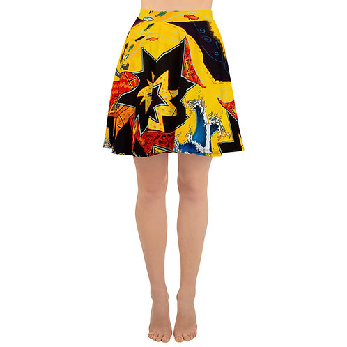 The Chaos of Ghostfish - Skater Skirt