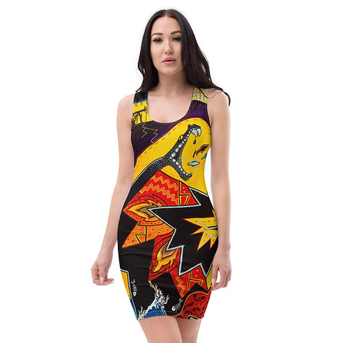 Chaos of Ghostfish - Sublimation Cut & Sew Dress