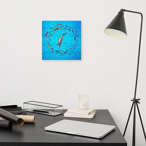 Maang print - Canvas