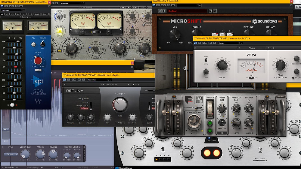 Vintique Sound mixing and mastering plugins