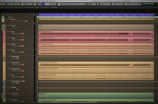 Vintique Sound DAW cubase project