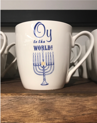 Oy to the World coffee mug
