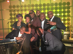 Keithen Banks with Snoop Dog & Cast