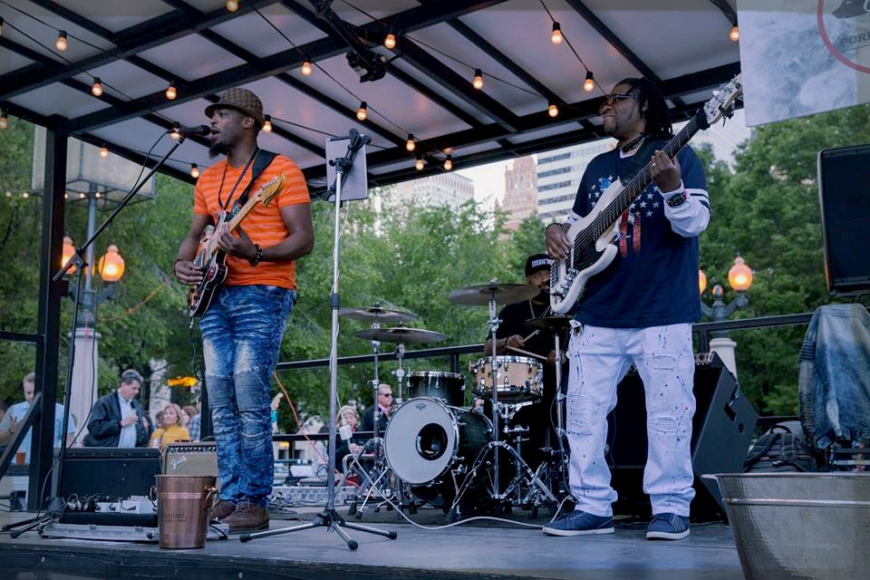 Keithen Banks at Park Grill