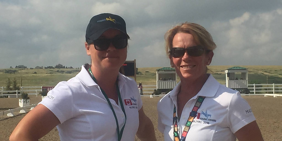 Eventing Clinic with Sara & Maeve -    3 days $ 295