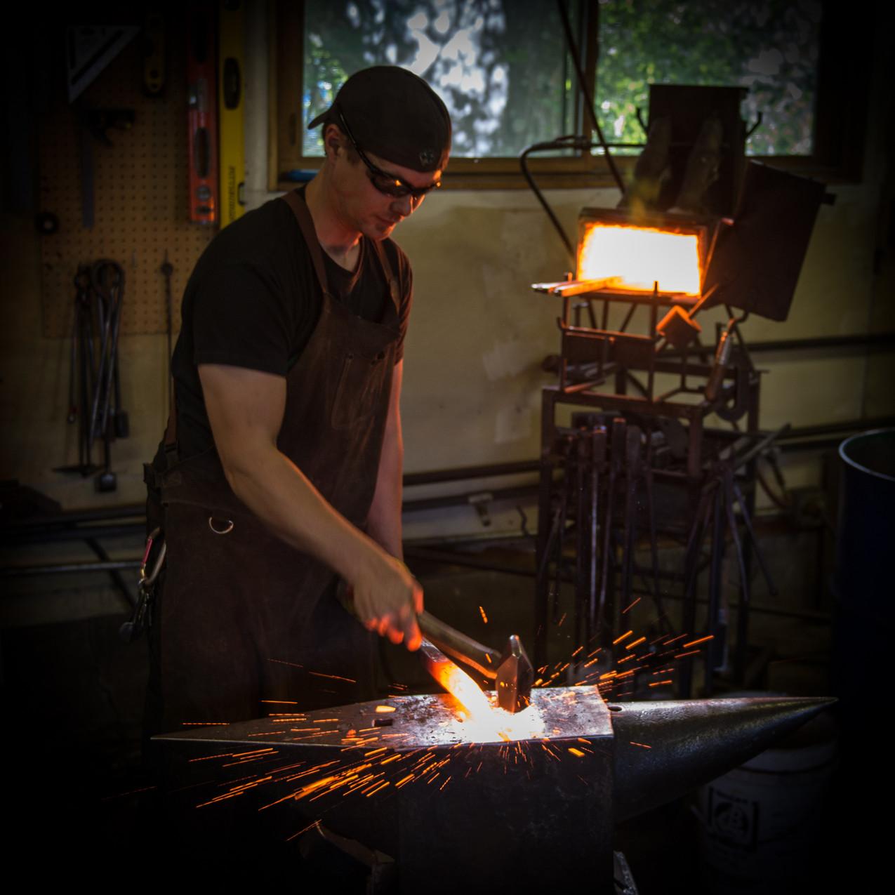 Samuel Welch, Artist Blacksmith
