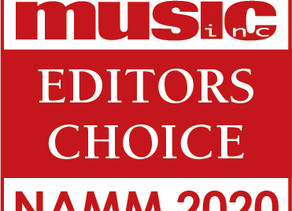 WTS Wins Editors Choice Award - NAMM 2020