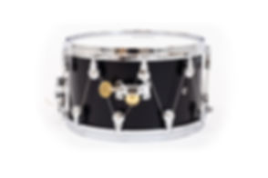 WTS Artistry Series Snare Drum | Satin Black Lacquer | featuring the WTS tuning system | Welch Tuning Systems, Inc.