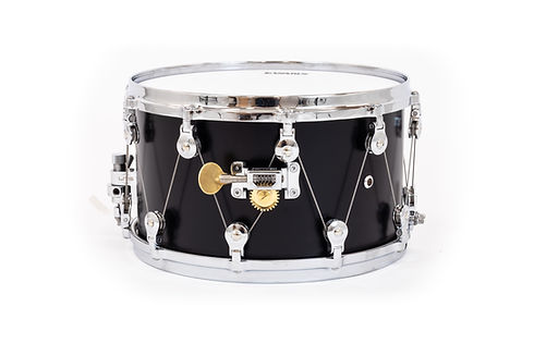 WTS snare drum with the WTS drum cable tuning system | Welch Tuning Systems, Inc.