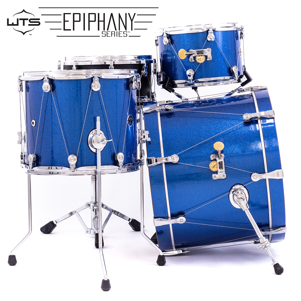 WTS Epiphany Series 3-piece shell pack and snare drums | WTS Drums | Welch Tuning Systems, Inc.