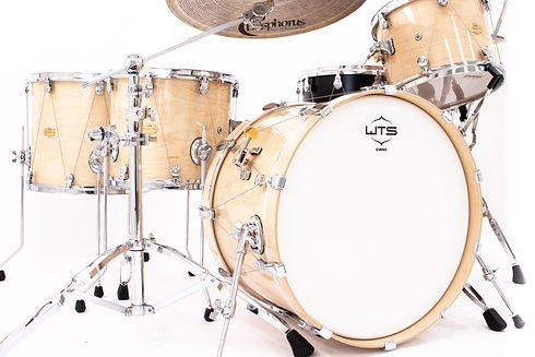 Welch Tuning Systems WTS Collaborations - WTS Artistry Series Drums with Bosphorus Cymbals