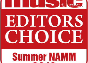 Welch Tuning Systems Receives Music Inc. Editors Choice Award at Summer NAMM 2019