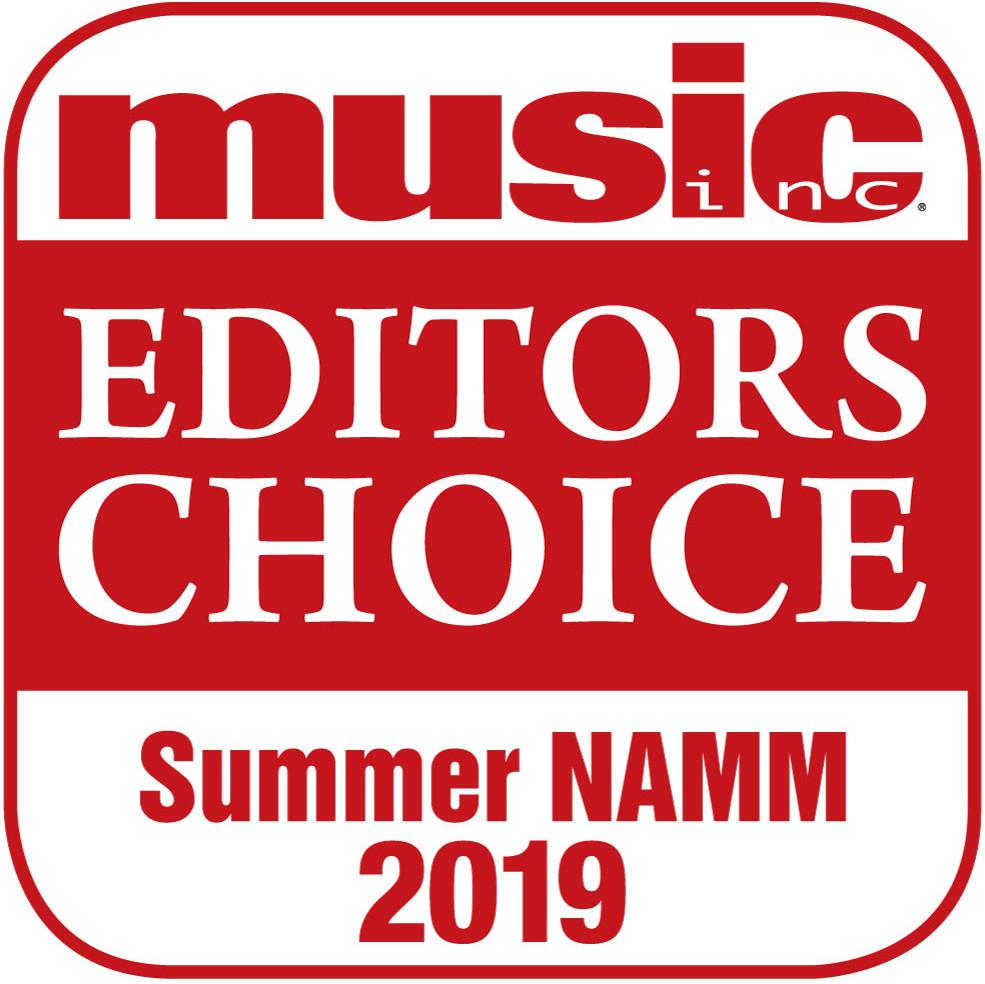 Music Inc. Editors Choice Award Summer NAMM 2019 - Welch Tuning Systems
