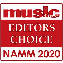 Music Inc. Magazine | Editor's Choice Award | NAMM 2020