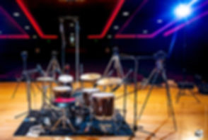 WTS Artistry Series drums on stage | Welch Tuning Systems, Inc.