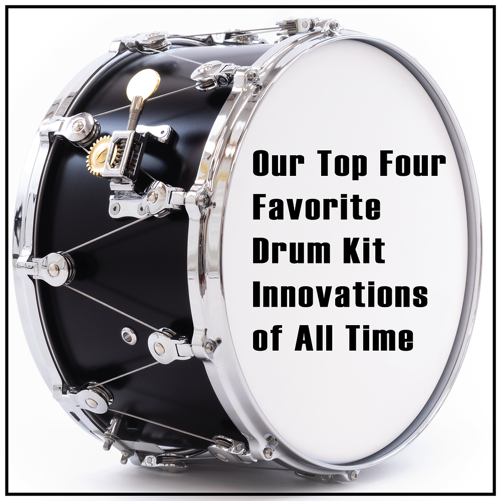 Our Top Four Drum Kit Innovations of All Time