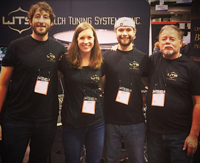 Welch Tuning Systems Company - Our Team: Patrick Auell, Laura Welch, Samuel Welch, John Montaña