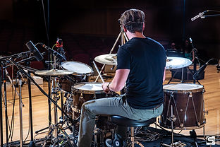 Max DeVincenzo on the WTS Artistry Series shell pack and snare at Grusin Hall Colorado